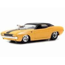 Miniatura De Carro Dodge Challenger 1970 Amarelo 1:64 Jada