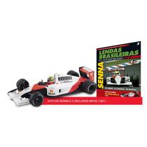 Lendas F1 1:43 #03 Ayrton Senna - Mclaren Mp4/6 (1991)