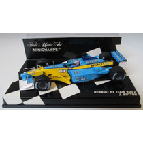 Minichamps 1/43 Renault R202 Button F1 2002 # Senna Jenson