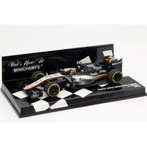1/43 Minichamps F1 Force India Vjm08 2015 S Perez Formula 1