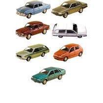 Kit 7 Miniaturas Clássicos Nacionais Brasileiro Jornal Extra