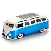 Kombi 1962 Jada Toys Miniatura Coleção Escala 1/24 Volkwagem