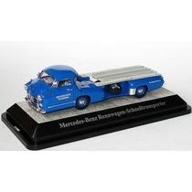 1:43 Mercedes Cegonha 1954 Rennwagen Transporter Miniatura