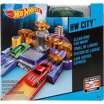 Hot Wheels Pista Lava Rápido Express Com Um Carrinho! Mattel