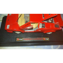 Brinquedo Antigo Burago Lamborghini Countach 5000 Ano 1988