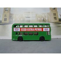 Matchbox/lesney Daimler Bus #74 Esso Petroil 1/64 Restaurado
