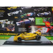 Coleção Lendas Brasileiras Senna Lotus 99t N°2