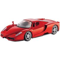 Kit Para Montar Enzo Ferrari 1:24 Maisto Vermelho