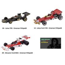 Emerson Fittipaldi F1 Miniatura Carro Corrida Formula 1 1/43
