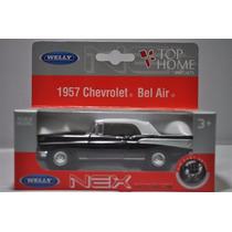 Chevrolet Bel Air 1957 1:41 Welly 42357h - Preto - Promoção