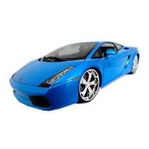Lamborghini Gallardo Allstars Maisto 1:18 Azul Metálico
