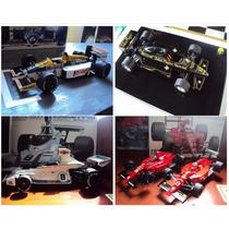 Montagem Miniatura F1 1/20 Tamiya Fujimi Revell Ebbro Iritan