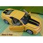Carro Miniatura De Metal Camaro Amarelo - Chevrolet