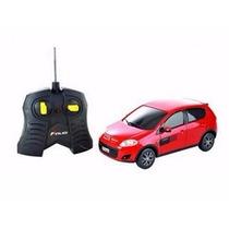Carro R/c Fiat Novo Palio Sporting Vermelho 1:18 Cks Toys