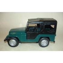 Miniaturas Carros Classicos Nacionais 2 - Jeep Willys
