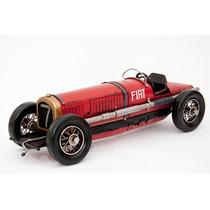 Carro F1 Fiat 1924 Miniatura De Ferro Vintage E Retrô