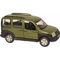 Miniatura Carro Classicos Nacionais Metal Fiat Doblo 11cm