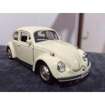 Volkswagen Fusca 1967 1:32 Bege Cp44