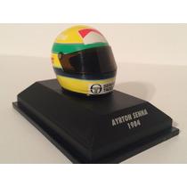 Minichamps 1/8 Capacete Senna 1984 F1 Toleman Tg184