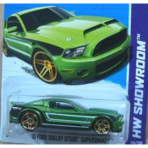 Hotwheels Ford Shelby Supersnake 2010 - Hw 2013 Lacrada