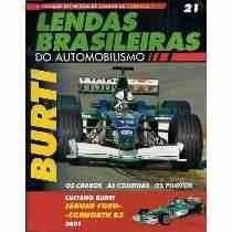 Coleção Lendas Brasileiras Do Automobilismo 21 Burt Jaguar