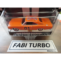 Dodge Charger 1969 - Miniatura General Lee Greenlight