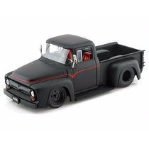 Pick Up Ford F100 1955 Jada Toys Mini Coleção Escala 1/24