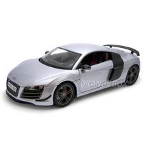 Audi R8 Gt 1:18 Maisto Premiere Edition 36190-prata