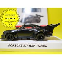 Porsche 911 Rsr Turbo Edicao Especial C/ Revista Kyosho 1/64