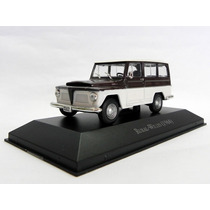 Miniatura Rural Willys 1968 Carros Brasileiros 1:43 - Ixo