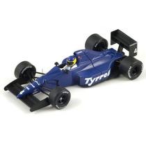 Spark 1/43 Tyrrell 018 Alboreto F1 1989 # Minichamps Senna