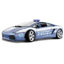 Lamborghini Gallardo Polizia Bburago 1:24 Carros Miniaturas
