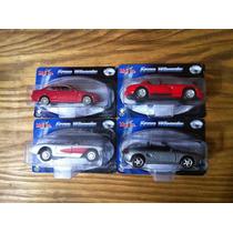 Coleção De Miniaturas 4 Carros Maisto Free Wheels 1/43
