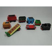 Vagões De Trem Trenzinho Antigo Curve Thomas Mattel