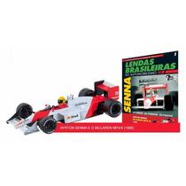Lendas Brasileiras Do Automobilismo Nº1 Ayrton Senna Mclaren