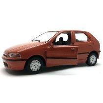 Miniatura Palio Jornal Extra 1/36 Fiat Laranja