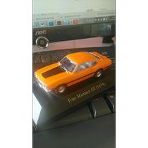 Miniatura Ford Maverick 1974 - Carros Inesquecíveis