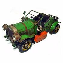 Miniatura Metal Carro Antigo Artesanal Rústico Vintage Cr101