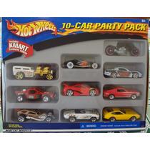 Hot Wheels Pack - 10 Carrinhos - Ano 2001 - Raro Modelo