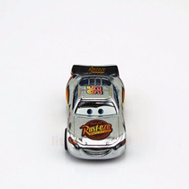 Disney Cars Relâmpago Mcqueen Prateado Original Mattel Loose
