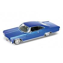 Miniatura Chevy Impala 1965 Hot Rider Welly 1:24 19cm