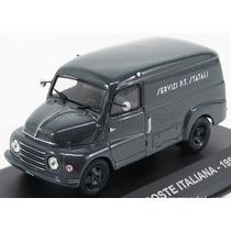 1/43 Miniatura Fiat 615 Poste Italiana 1956 Correios Furgão
