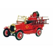 Miniatura Ford Model T Fire Truck 1920 1:32 Unique Replicas