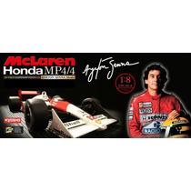 Fascículos Ayrton Senna Mclaren Honda Mp4/4
