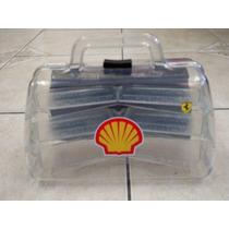 Maleta Para Coleção De Carrinhos Shell
