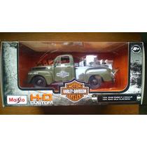 Maisto Motor Cycles 1:24 - 1948 Ford F-1 Pickup + 1942 Moto