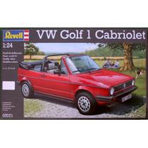 Modelo De Carro - Revell Rv160 1:24 Vw Golf 1 Cabrio Hobby C