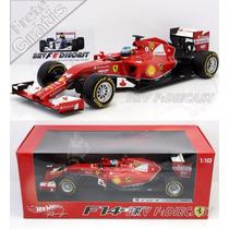 1/18 Hot Wheels Ferrari F14t Turbo Fernando Alonso F1 2014