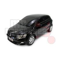 Carro Controle Remoto Volkswagen Gol Preto 1:18 Cks Toys