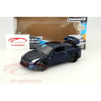 Nissan Gt-r (r35) 2009 Fast And Furious 7 1:24 Jada Toys